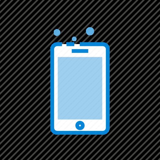 communication, phone, screen, smartphone icon