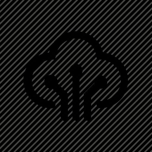 Cloud, data, database, server, network, storage icon - Download on Iconfinder
