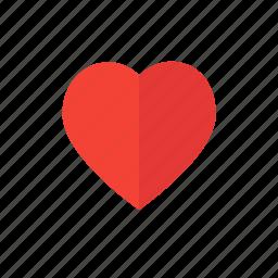 design, heart, like, love, lovely, material icon