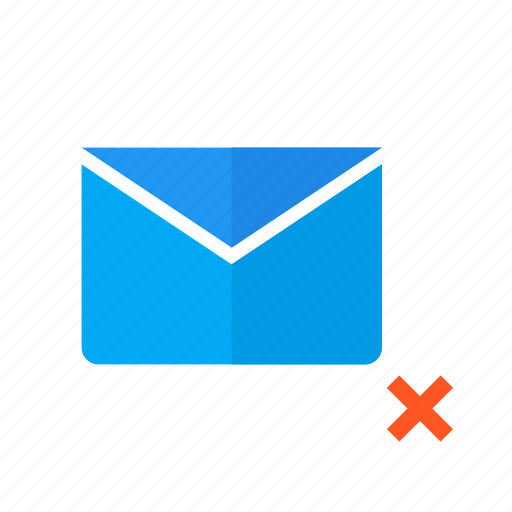 design, email, mail, material, not, sent, valid icon