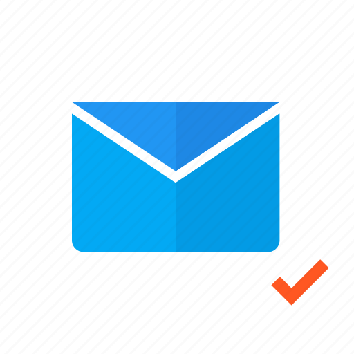 design, email, mail, material, sent, valid icon