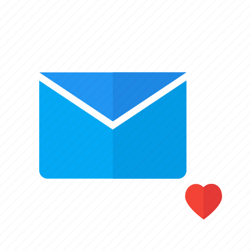 design, email, like, love, mail, material icon