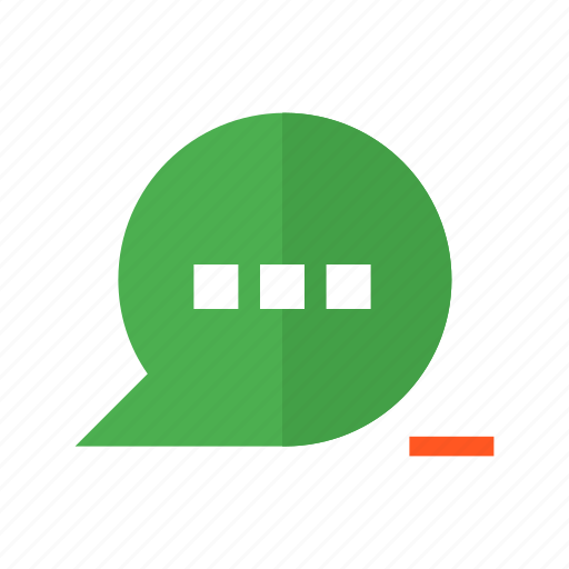 chat, delete, design, material, message, remove, text icon