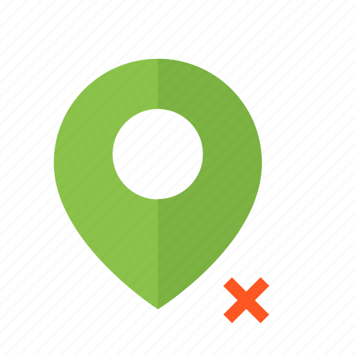 design, location, map, material, not, pin, valid icon