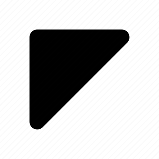 arrow, side, up, upper icon