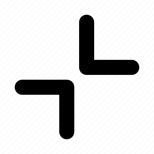 arrow, down, side, sign, up icon