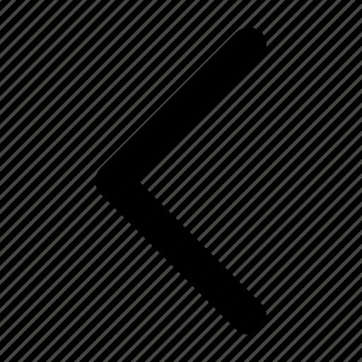 arrow, left, sign icon