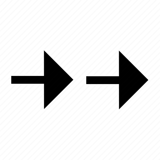 arrow, right, side, sign icon