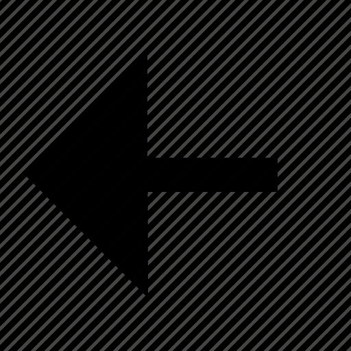 arrow, right, side icon