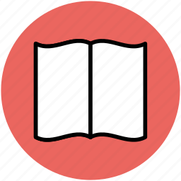 book, catalogue, manual, open book, reading, study icon