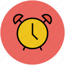 alarm clock, clock, time, timepiece, timer icon