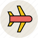 aeroplane, airbus, airliner, airplane, flight, plane icon