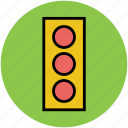 road light, road signals, traffic control signal, traffic lamp, traffic signals icon