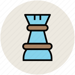board game, chess, chess piece, chess rook, gambling, game icon