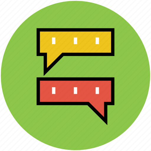 chat, chatting, communication sign, conversation, online chat, talk, talking, verbal chat icon