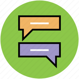 chatting, messaging, online chat, online chatting, text messaging icon
