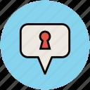 chat bubble, confidential, discuss, safe dialogue, speech box, speech bubble, talk icon
