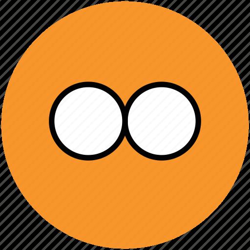 binocular, binocular telescope, field glass, find, search, view, zoom icon