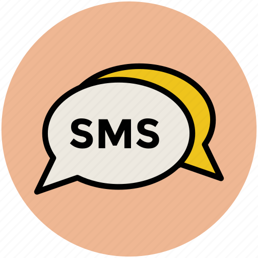 chat bubble, communication, internet, messages, sms, text messaging icon