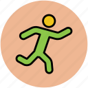 athlete, man, runner, sportsman, sportsperson icon