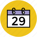 calendar, date, event, month, schedule, timeframe, yearbook icon