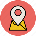 gps, location pin, location pointer, map pin, navigation icon