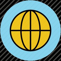 global, globe, internet, planet, universal, world, worldwide icon