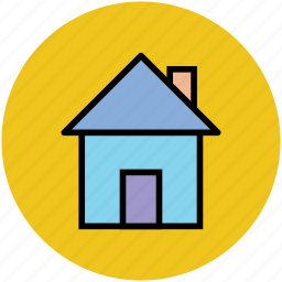 home, house, hut, rural home, shack, villa icon