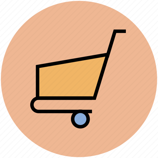 cart, ecommerce, online shopping, shopping cart, shopping trolley icon