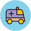 ambulance, medical emergency, medical rescue, medical transport icon