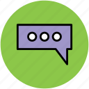chat, chatting, communication, conversation, internet, online, talk icon