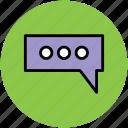 chat, chatting, communication, conversation, internet, online, talk icon