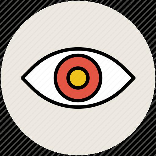 eye, human eye, view, visibility, visible icon