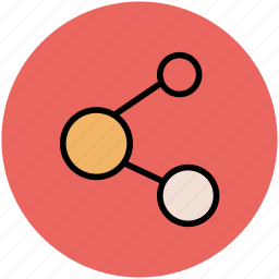 communication, connection, share, share sign, social media icon