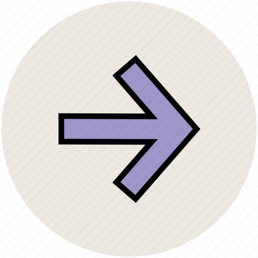 arrow, direction, forward, forward arrow, next icon