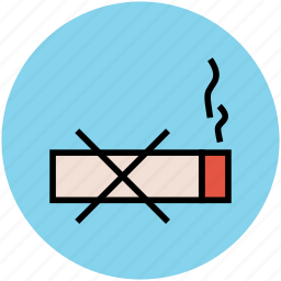 ban, cigarette, forbidden, no smoking, smoking icon