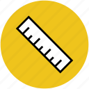 drafting tool, geometry tool, measurement, measuring tool, ruler icon