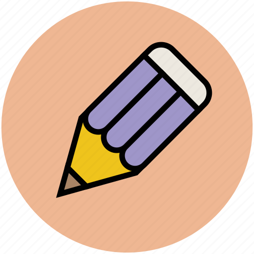 crayon, edit, lead pencil, pencil, stationery, write, writing icon