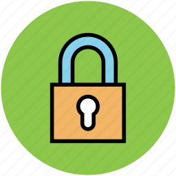 lock, locked, padlock, safe, secure icon