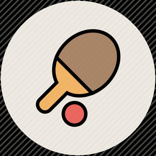 game, ping pong, sports, table tennis, table tennis bat, tennis ball icon