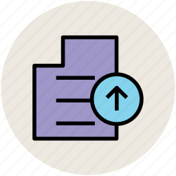 file, file uploading, up arrow, upload, upload file icon