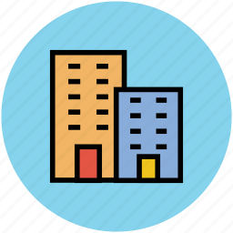 apartments, building, commercial, real estate, residential icon