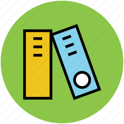 archives, file folders, files, office, office documents icon