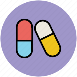 capsules, drugs, healthcare, medication, medicine icon
