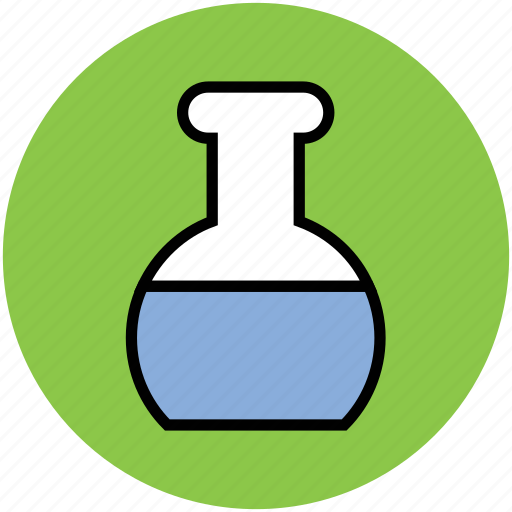 chemical, conical flask, elementary flask, flask, lab equipment, laboratory instrument icon