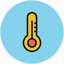 scale, science thermometer, temperature, thermometer, wall thermometer icon