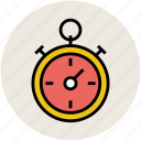 clock, stopwatch, timer chronometer, watch icon