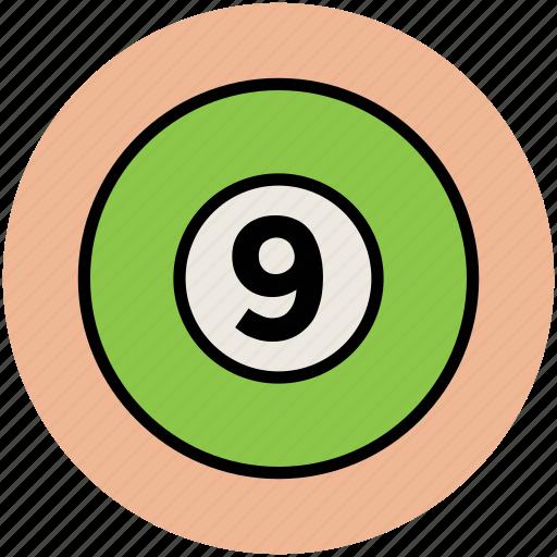 ball, billiard, billiard ball, cue ball, game, snooker, sports icon