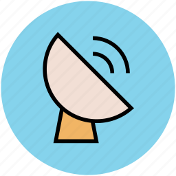 dish antenna, satellite dish, space antenna, technology icon