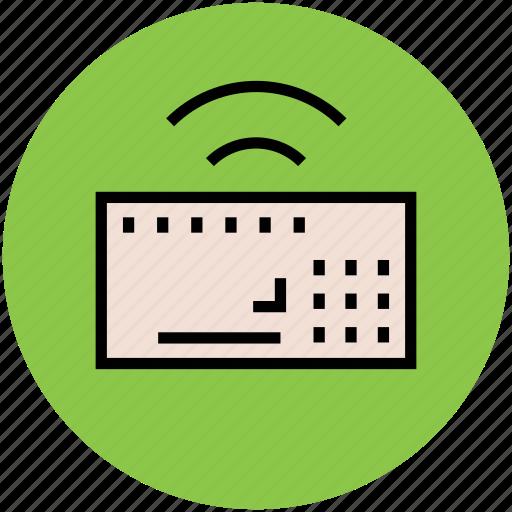 computer keyboard, input device, keyboard, wireless keyboard icon